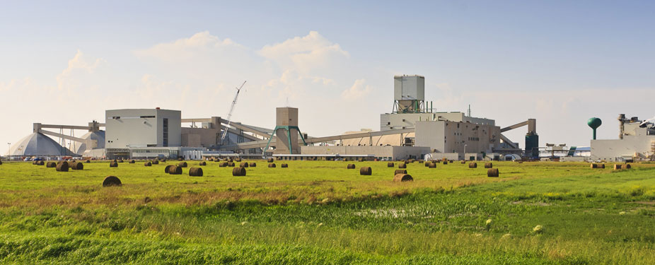 Saskatchewan Potash Mine